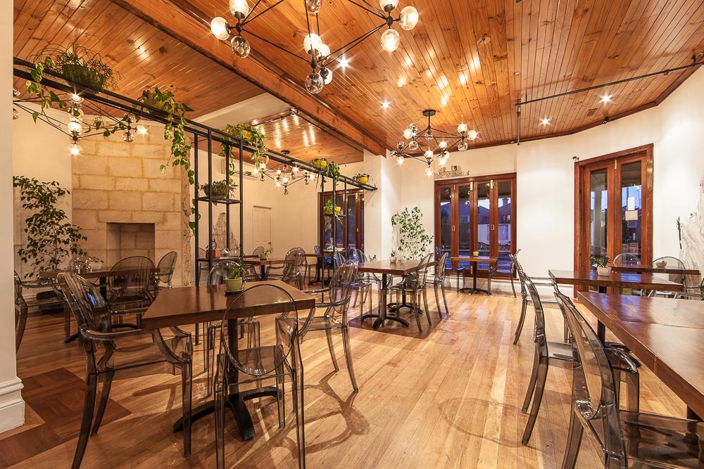 Public co restaurant interior design service stiely