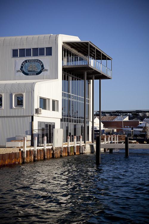Mermaid Marine Offices, Fremantle WA – Stiely Design